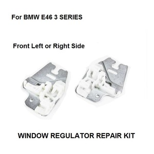 Image 1 - WINDOW METAL SLIDER FOR BMW E46 3 SERIES WINDOW REGULATOR REPAIR CLIPS with METAL SLIDER FRONT RIGHT or LEFT 98 13