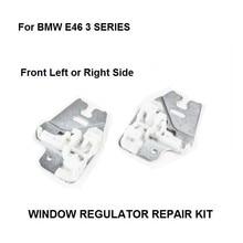窓金属スライダー bmw E46 3 シリーズウィンドウレギュレータの修理クリップ金属スライダーフロント右または左 98 13
