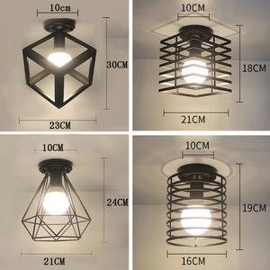 Image 5 - Ceiling light Modern ceiling lamp Metal loft decor lamp Industrial style home lighting bedroom Kitchen livingroom light fixtures