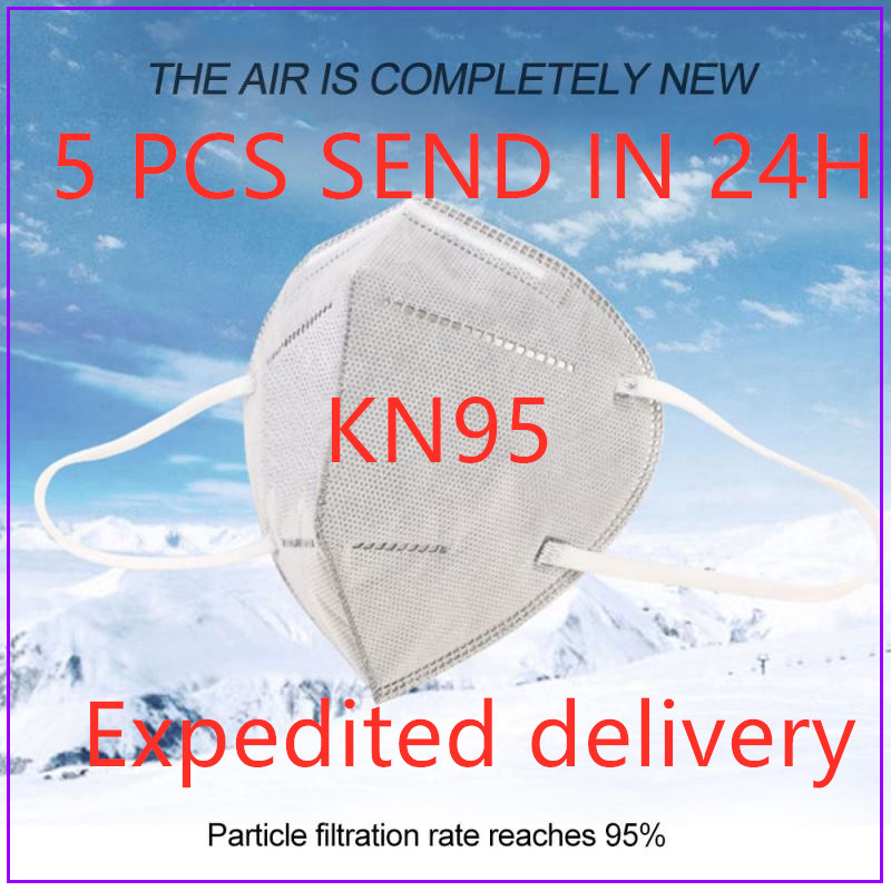 Kf94 Filter Respirator FFP2 FFP3 Mouth Mask Kn95 Mascarilas N95 Disposable Face Mask 3/5 Layer Breathable Anti Dust Masks Masque