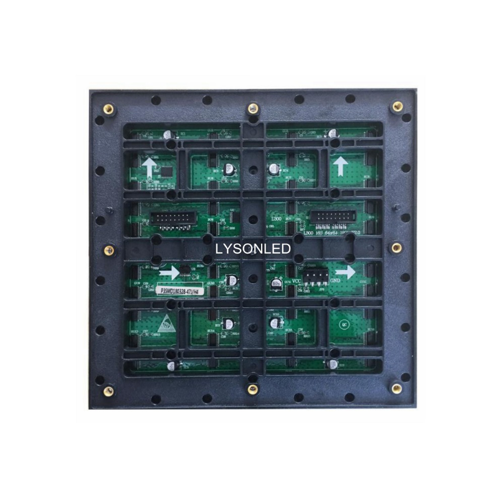 2019 新加入屋外 SMD P3 RGB LED パネルモジュール 192 × 192 ミリメートル、 1/16 スキャンフルカラー LED ビデオウォール屋外 P3 LED パネル 64 × 64 ピクセル  グループ上の 電子部品 & 用品 からの LED ディスプレイ の中 2