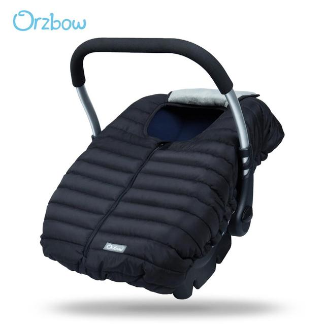 Orzbow Baby Basket Car Seat Cover Warm Newborn Infant Carrier Cover Waterproof Baby Car Seat Envelope Newborn Footmuff in Travel 1