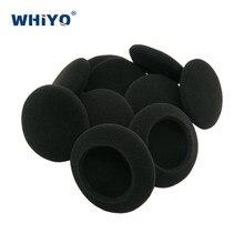 Almofadas de ouvido substituição esponja capa para philips hs500 sbchl155 sbchl145 hs 500 HS-500 fone de ouvido peças espuma almofada travesseiro