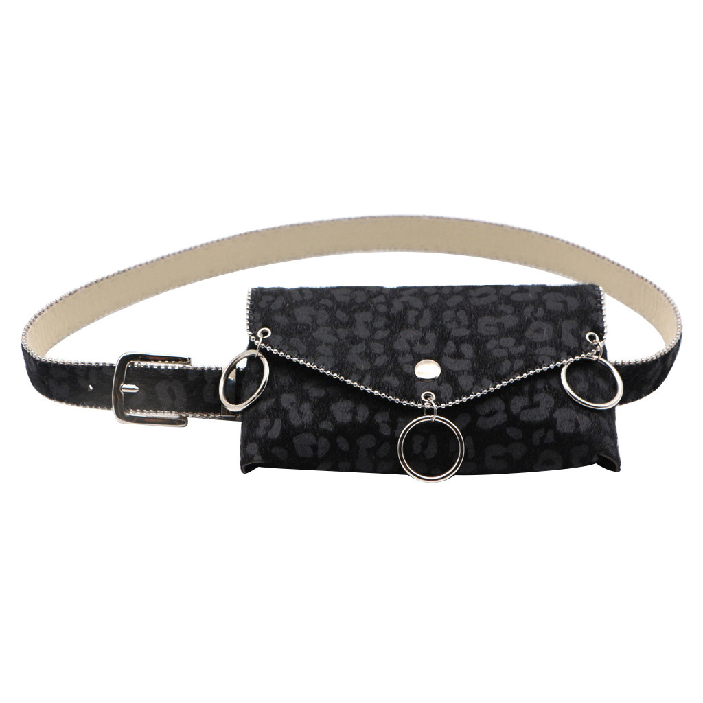 New Brand Fashion Waist Bag Women Waist Pack Fanny Pack For Women Leather Waist Belt Shoulder Bag Belt Bag Поясная Сумка Бананка