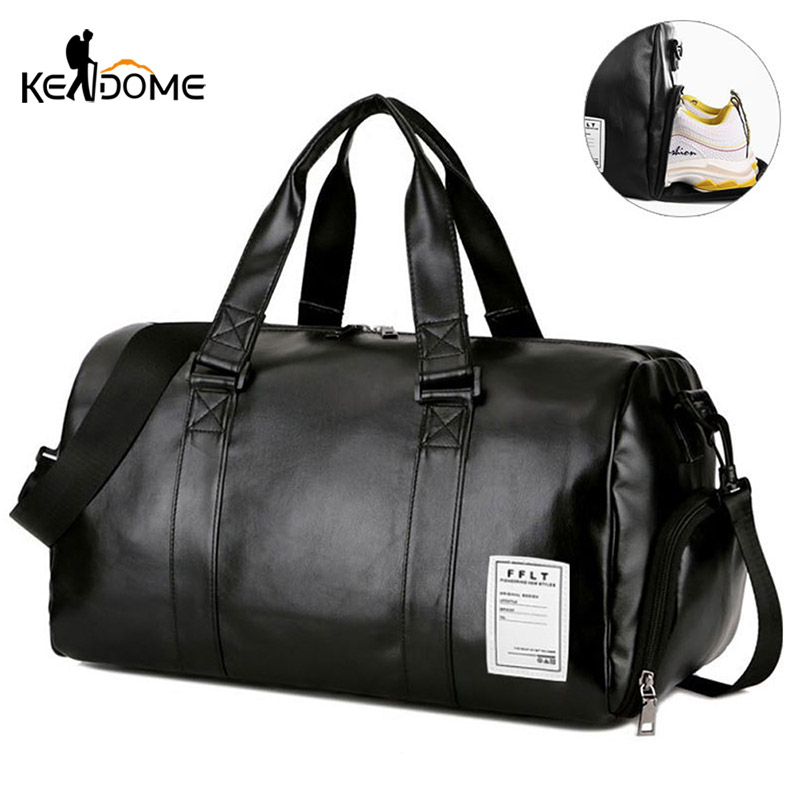 Gym-Bag-Leather-Sports-Bags-Dry-Wet-Bags-Men-Training-for-Shoes-Fitness-Yoga-Travel-Luggage