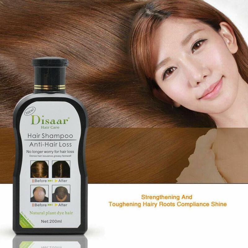 200ml Professional Shampoo For Anti-hair Loss Herb Fast Hair Growth Product Prevent Hair Treatment For Unisex Toiletries