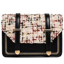 Autumn Small Bag Female 2019 New Korean Version of The Foreign Small Square Bag Fashion Wild Chain Slung Shoulder Bag ClearPurse цены