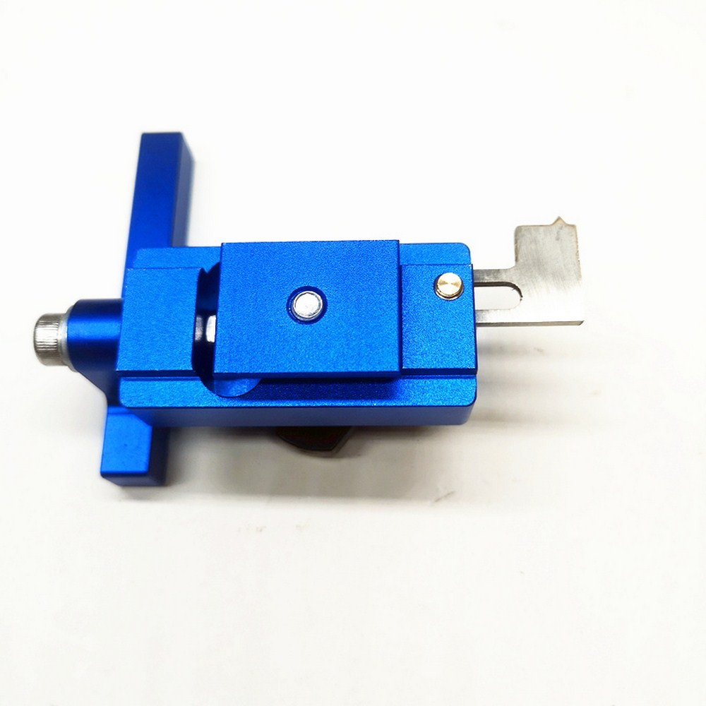 Type 45 Chute Limiter Blue Location And Fixation Wooden Slide Special Aluminum T-track Limiter Limiter Manual Miter Stopper Tool