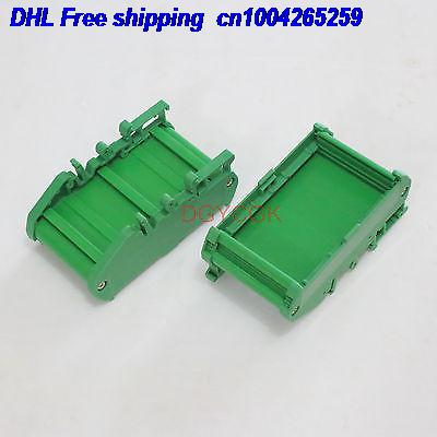 DHL 20pcs DIN Rail Mounting Carrier Housing  For Prototype PCB Size 72x42mm Project DIY Connector  22-ct