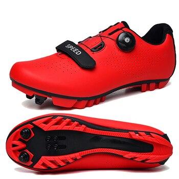Specialized Winter Speed MTB Cycling Shoes Road Racing Bicycle Flat Sneakers Men Cleat Women Dirt Bike Spd Mountain Footwear 26