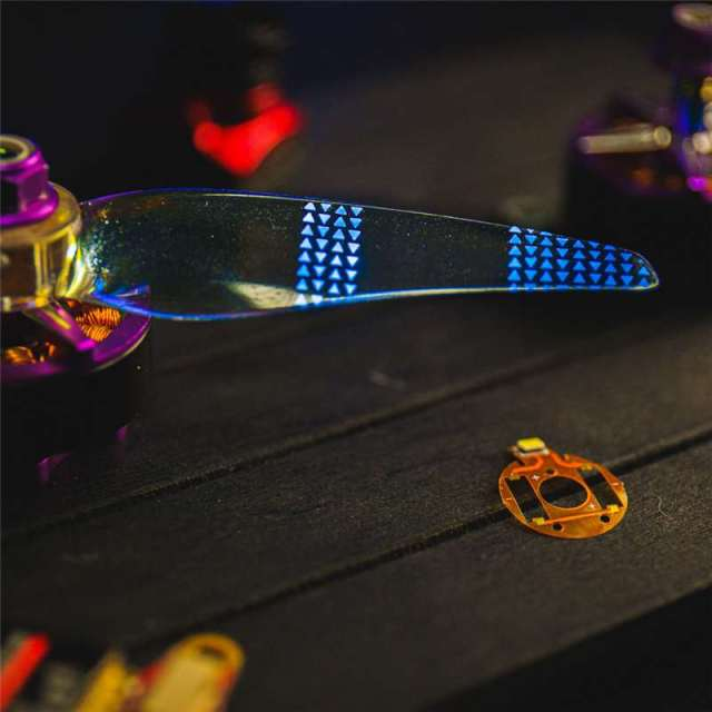 Gemfan Moonlight V2 51466 3-Blade LED Blue