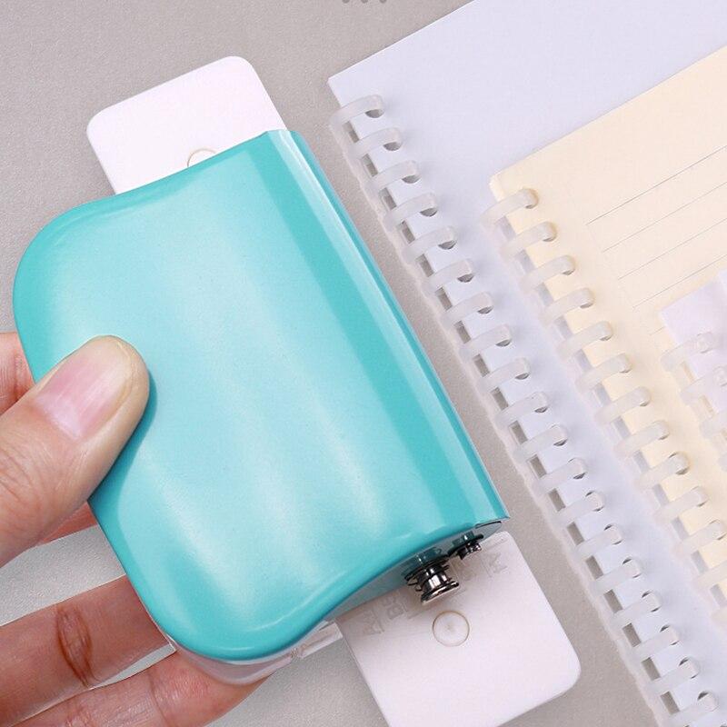 Perforadora De Papel DIY Hole Puncher DIY Loose Leaf Hole Punch Portable Loose-leaf Paper Hole Puncher For A 4/B5/A 5 Paper