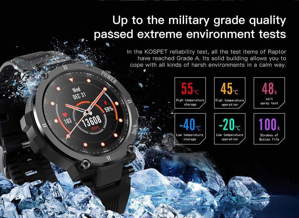 montre intelligente tactile complète Ip68 étanche
