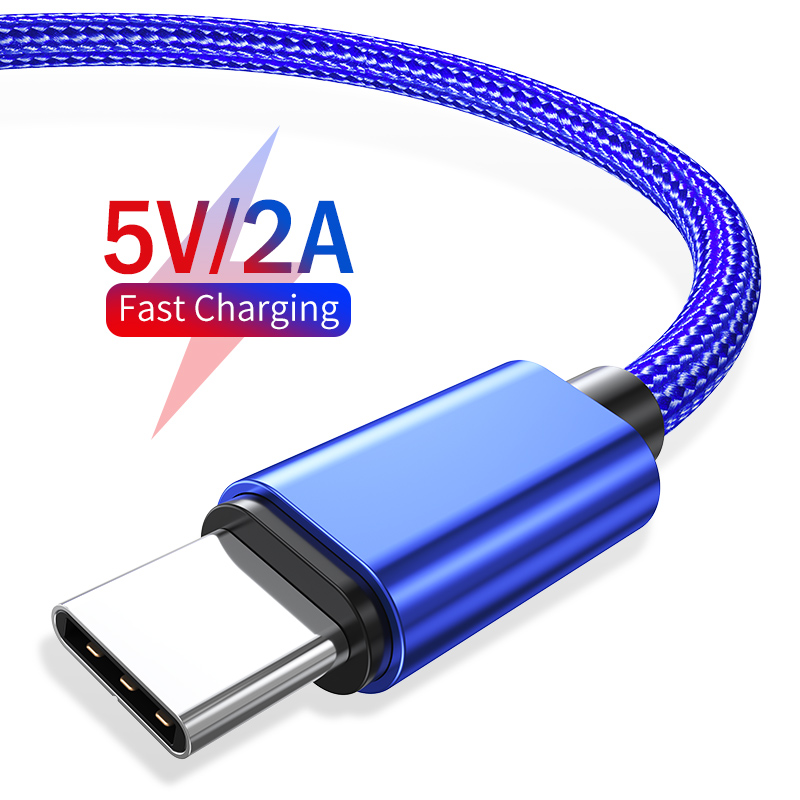 YKZ USB Typ C Kabel 3A Schnelle Ladegerät Kabel für Samsung S10 Typ-c kabel Datenkabel USB C ladekabel für Huawei Xiaomi mi 9 C