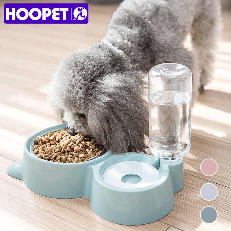 HOOPET Garrafa para Água Tigelas para Cães Pequenos Cães de Grande Porte Gato Filhote de cachorro do Cão de Estimação Beber Dispensador Tigela Alimentador do animal de Estimação Do Produto|Alimentação p/ cães|   - AliExpress