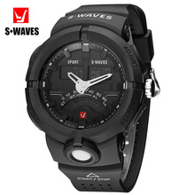 SWAVES Fashion Watches Mens 2019 Casual Water Resistant Sport Luxury