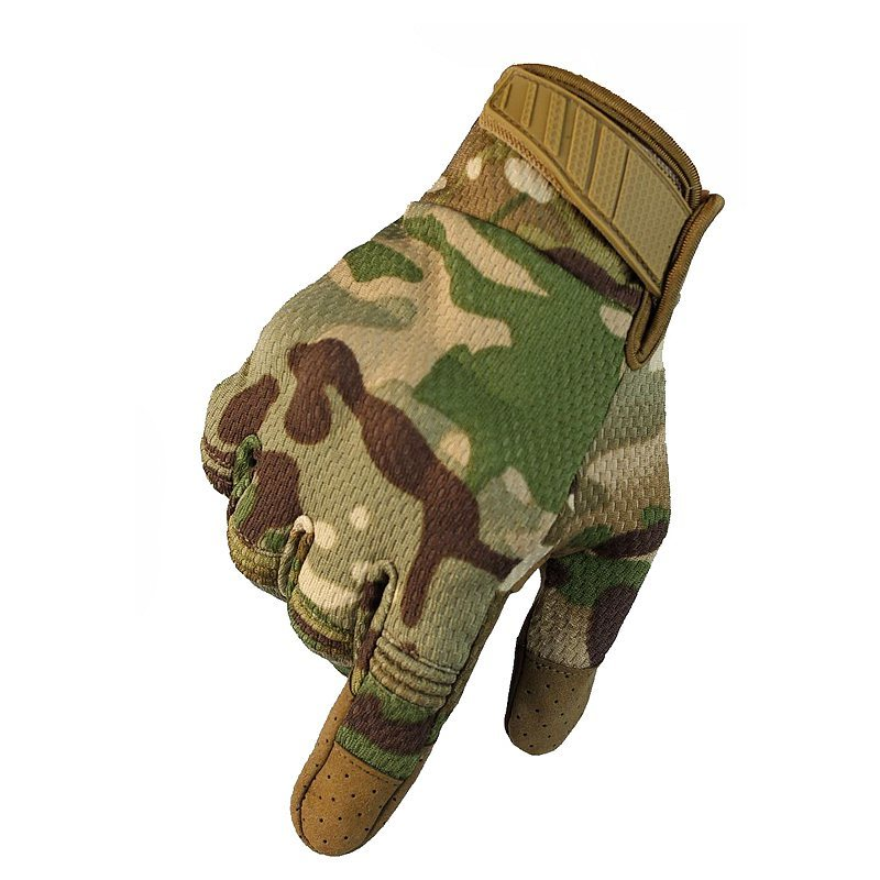 Men Tactical Gloves Full Finger Touch Screen Gloves Army Outdoor Sport Cycling Climbing Camo Hunting Anti-skid Gloves