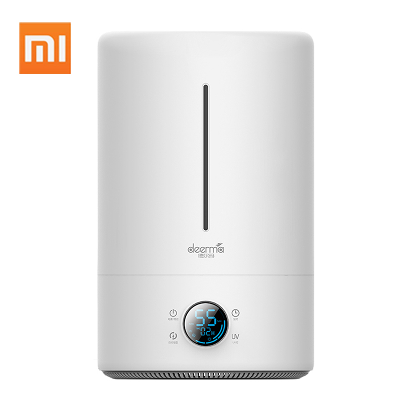 Xiaomi 5L Air Humidifier Large-Scale Aromatherapy Machine Ultrasonic Atomizing Humidifier Office Home 35DB Mute Humidifier