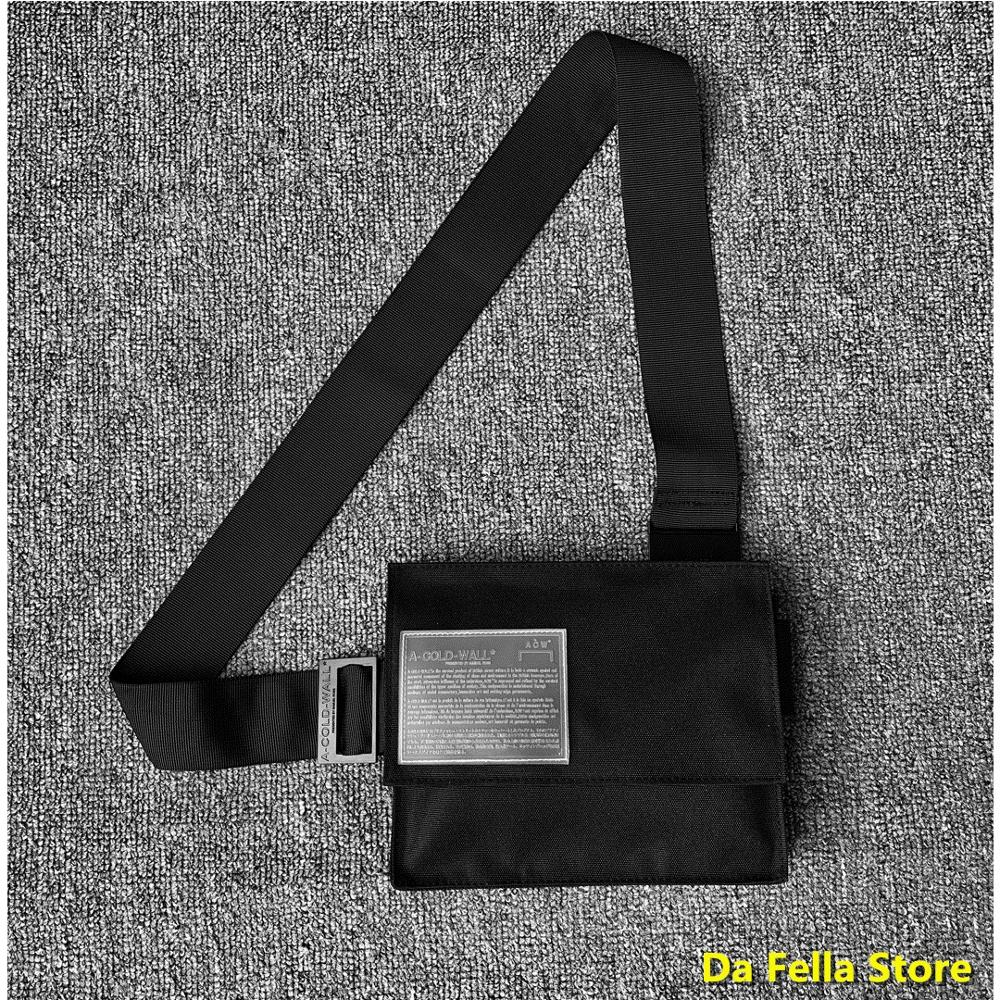 A-COLD-WALL* Bags 2020 Men Women 1:1 Standard Quality A COLD WALL Bag Street Culture ACW Packs Inside Tag Canvas ACW Backpacks