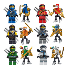 Phantom Ninja Send Mech Warrior Legoingly Blocks Compatible Toys Children Building Christmas Gifts