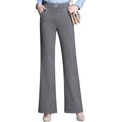 Женские повседневные длинные брюки из хлопка высокого качества, ветрозащитные штаны, новинка зимы 2019