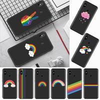 Custodia per cellulare Gay Lesbian LGBT Rainbow Pride per Xiaomi Redmi mi note max 3 5 6 8 9 10 t S SE lite pro borse per cellulare in Silicone morbido