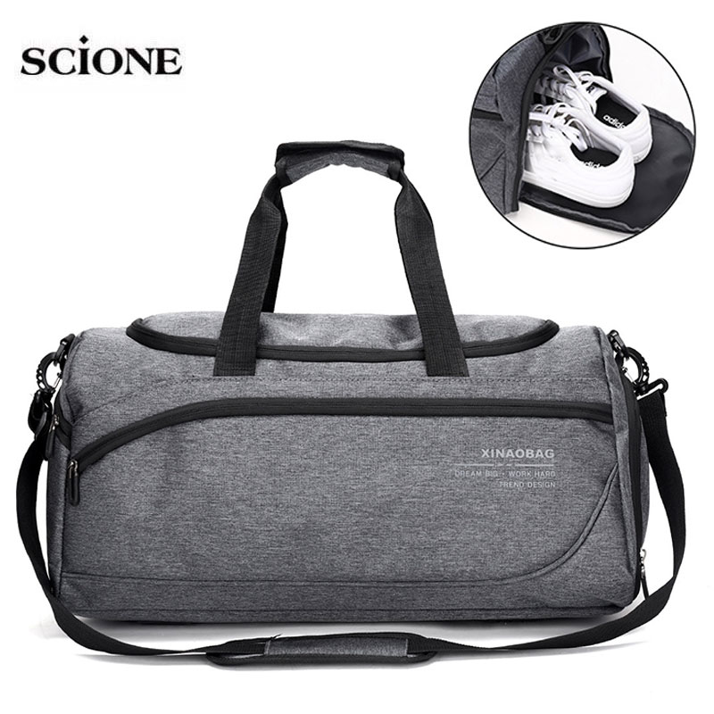 Dry Wet Gym Fitness Bags Training Bag For Shoes Sports Shoulder Duffle Women Men Travel Handbag Gymtas Sac De Sporttas XA878WA