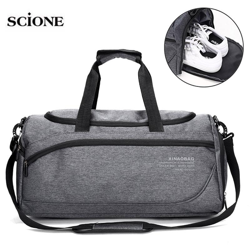 Dry Wet Gym Fitness Bags Training Bag For Shoes Sports Shoulder Duffle Women Men Travel Handbag Gymtas Sac De Sporttas XA878WA