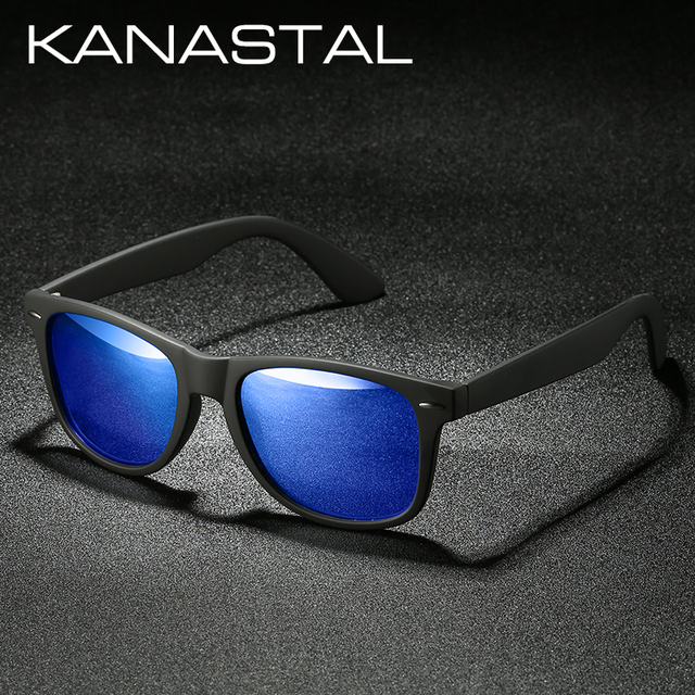 KANASTAL Polarized Sunglasses Men Women Brand Design Driving Square Frame Sun Glasses Male Goggle Classic Gafas De Sol UV400 1