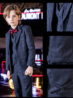 YuanLu Blazer Kids Suit For Boy Formal Costume Outfit Baby Clothes Party Wedding Piano Gentleman