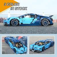 Décool bloque Bugatti Chirons Compatible 20086 IegoSet Technic Voiture 42083 briques de construction jouet éducatif cadeau pour les enfants