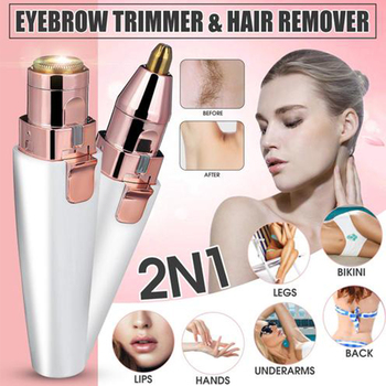 Eyebrow Epilator Trimmer Electric Face Razor Summer Hair Removal Body Painless Skin Care Tool Shaver