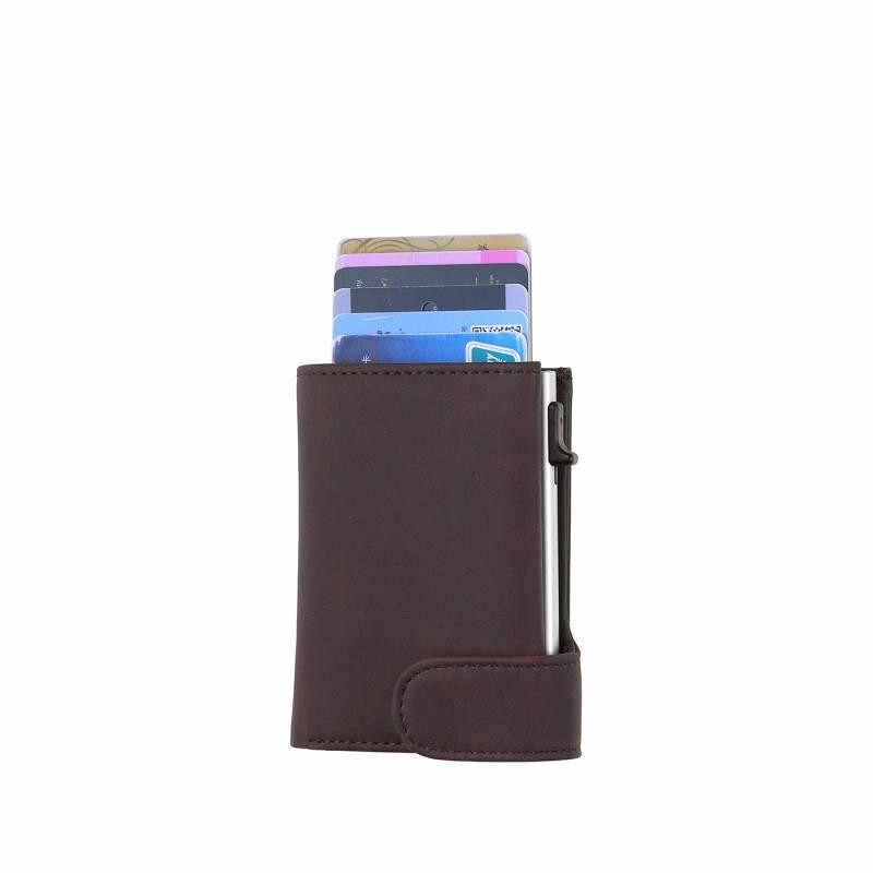 Bisi Goro Pouch Voor Credit Card Wallet Porte Carte Rfid Anti-Diefstal Fashion Card Case Paspoorthouder Mannen En vrouwen Portemonnee