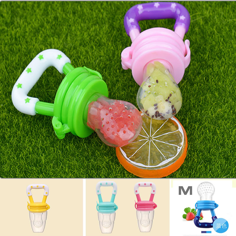 Fresh Fruit Food Kids Nipple Feeding Cup Safe Milk Feeder For Baby Pacifier Bottles Soother Teat Nibbler Drop Shipping