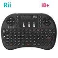 [Original] Rii Mini I8  2,4G Wireless Gaming Tastatur Backlit Englisch Hebräisch Russisch Mit TouchPad Maus Für Tablet Mini PC