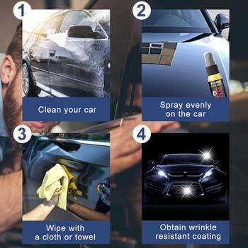 Automotive Liquid Nano-hydrophobic Spraying Wax 30ML Paint Surface Maintenance Sealing And Polishing Excellent Mirror Effect 2