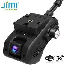 Jimi JC200 3G Auto Camera Hd 1080P Met Dual Opname Gps Tracking Remote Monitoring Live Video Auto Dvr camera Op Web En App