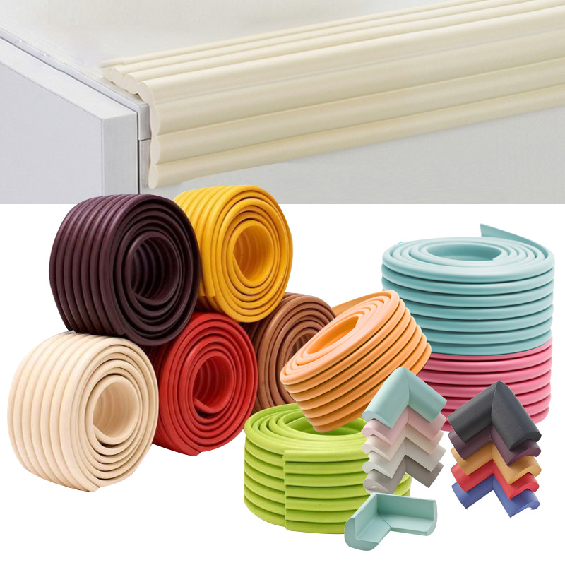 2M Baby Table Guard Strip Edge Protection Desk Corner Protector Child Security