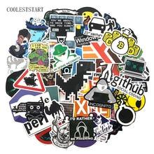 Pegatinas de grafiti para Skateboard, pegatinas de PVC para chico, 72 unidades por paquete