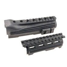 Тактический полимерный рис Railed AK Handguard для 47 74 серии охотничье ружье-винтовка аксессуары черный