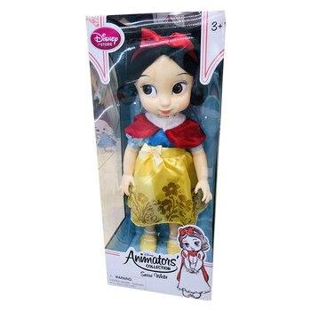 Disney Joint movable dressing  Frozen Aisha Mermaid Rapunzel Princess Set Doll  Toy birthday Gift