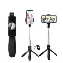 DishyKooker K06 Wireless Bluetooth Selfie Stick Telescopic Handheld Monopod Shutter Remote Extendable Mini Tripod