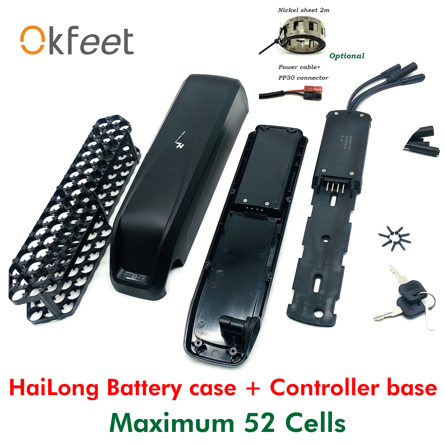 Power-out from flat Bottom electric bike battery 36V 13AH