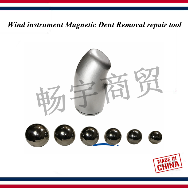 Wind Instrument Magnetic Dent Removal Repair Tool Saxophone Tuba Trombone Trumpet French Horn Tuba Tube Dent Repair Tool