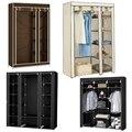 Vestuário de pano móveis armário de armazenamento tecido armário dobrável não tecido portátil impermeável reforço dustproof quarto hwc
