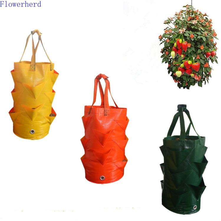 Strawberry Planting Bag Gardening Flower Planting Bag Aerial Gardening Planting Moisturizing And Breathable