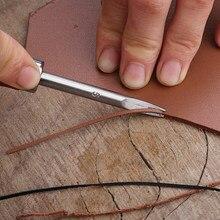Diy Hand Stiksels Lederen Trimmen Gereedschappen Afschuining Crop Tool Lederen Rand Skiving Beveler Craft Keen Edge Beveler Snijgereedschap