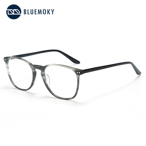 Image 2 - BLUEMOKY Acetate Prescription Glasses for Women Men Square Optical Myopia Spectacles Frames Anti Blue Light Ray Computer Eyewear