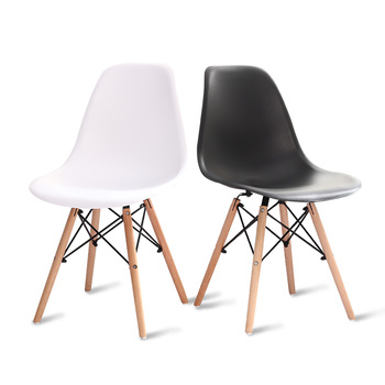 Nordic dining table and chairs modern minimalist creative computer office chair casual home back plastic coffee chair