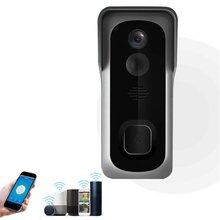 1080P Wireless WiFi Doorbell Freely Paste Smart HD Video Doorbell Video Call Infrared 140° Low-power Doorbell With Camera Vision